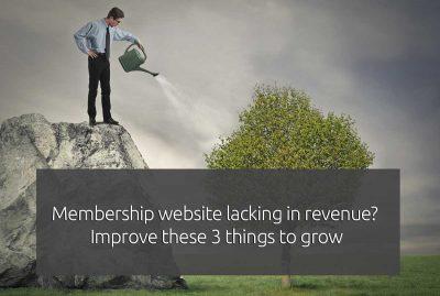 The keys to a profitable membership website